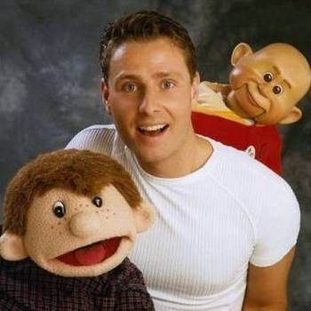Paul Zerdin with Puppets